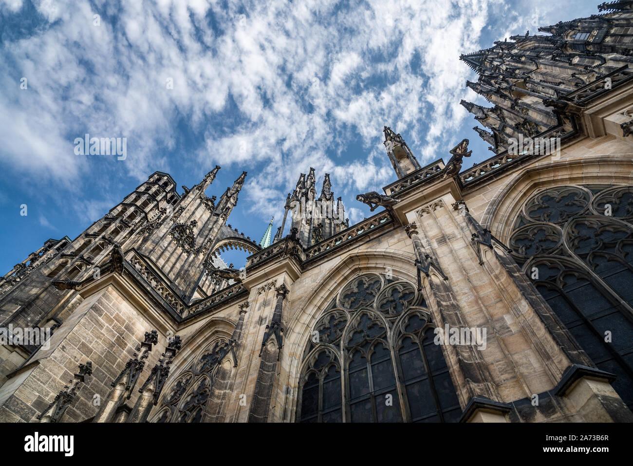 Catedral de San Vito, Praga Foto de stock