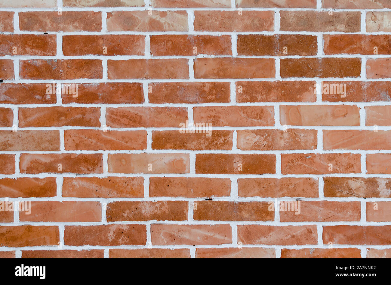 Textura de pared de ladrillo marrón Foto de stock
