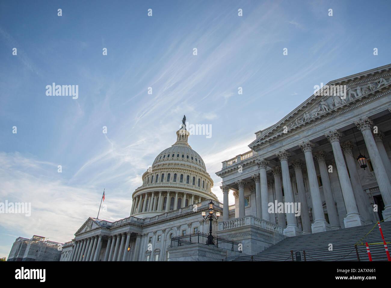 El Capitolio de los Estados Unidos Foto de stock