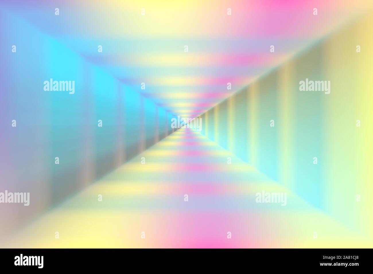 Un resumen de color pastel desenfoque de la imagen de fondo. Foto de stock