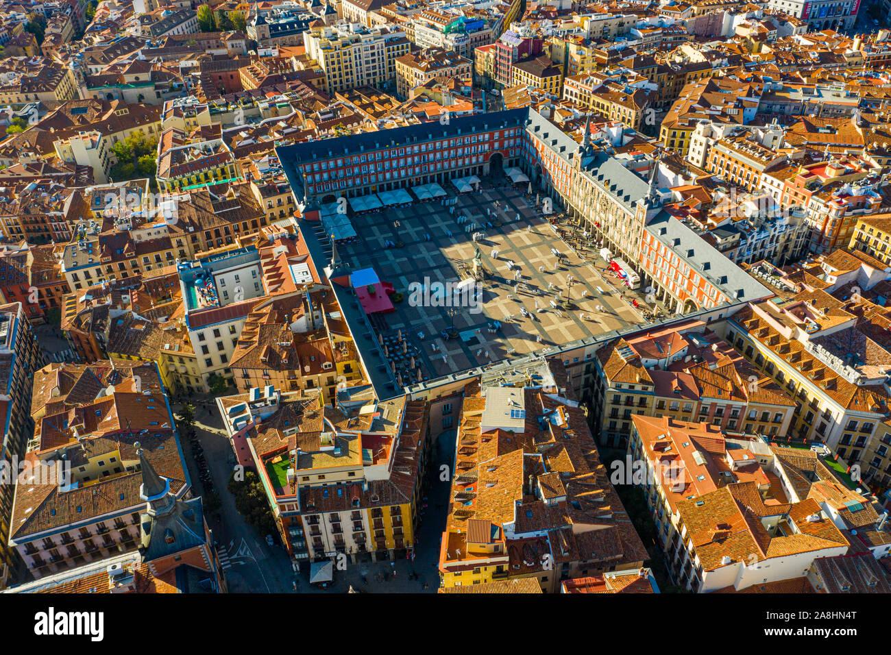 Plaza Mayor, Madrid, España Foto de stock
