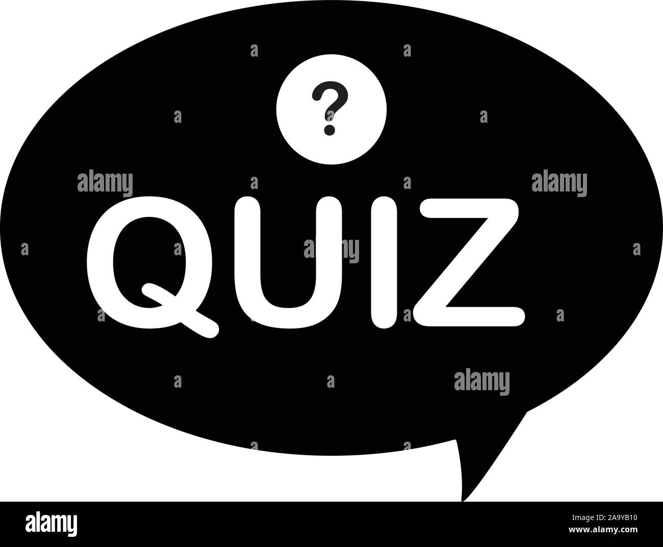 Icono Quiz Sobre Fondo Blanco Estilo Plano Quiz Show Pregunta Preguntas Y Respuestas Juego Simbolo Quiz Con Signo De Interrogacion Imagen Vector De Stock Alamy