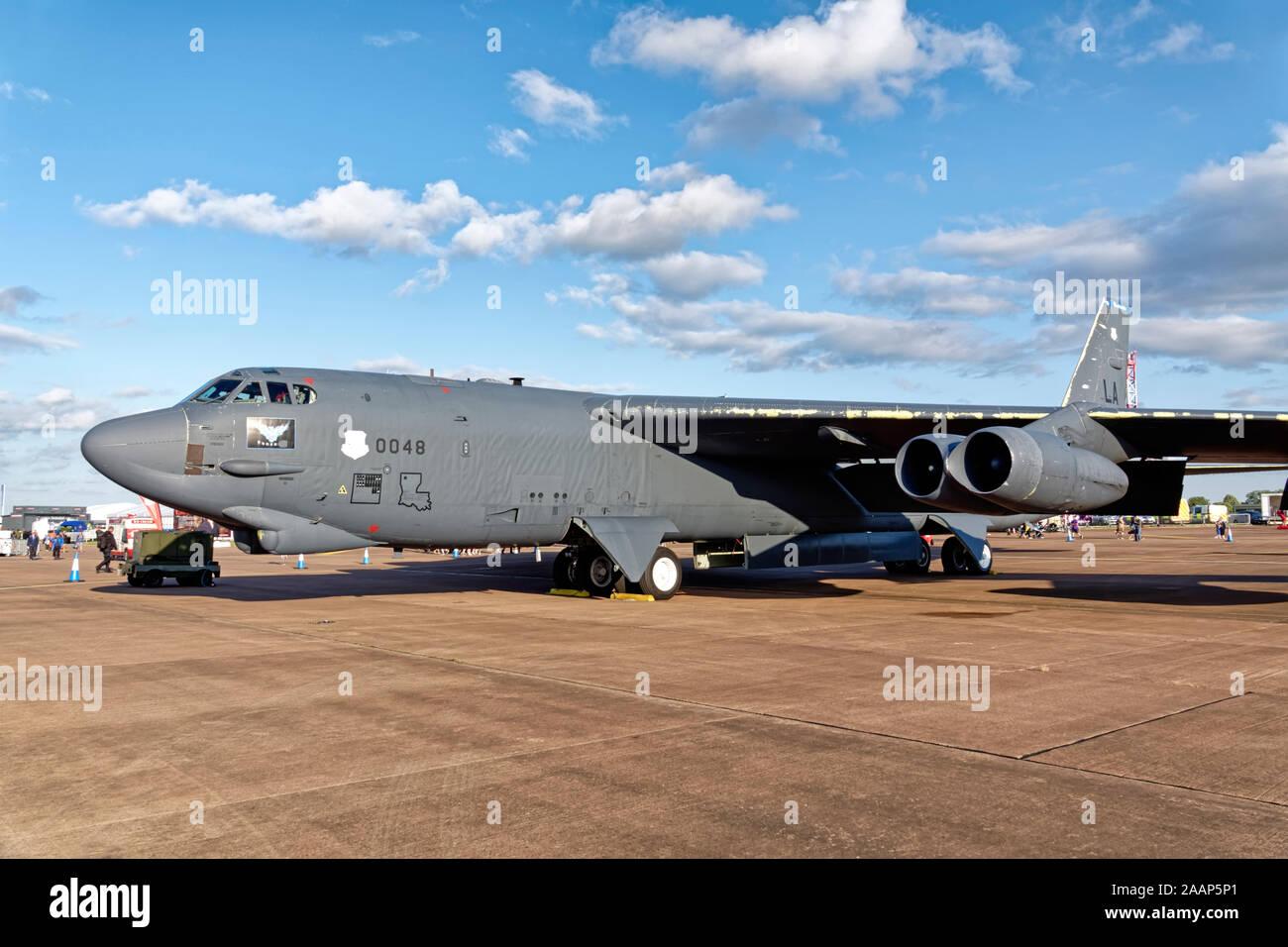 La Fuerza Aérea de los Estados Unidos B-52H Stratofortress, 60-0048/LA,de la 2BW/20BS, Base de la Fuerza Aérea de Barksdale, Louisiana Foto de stock