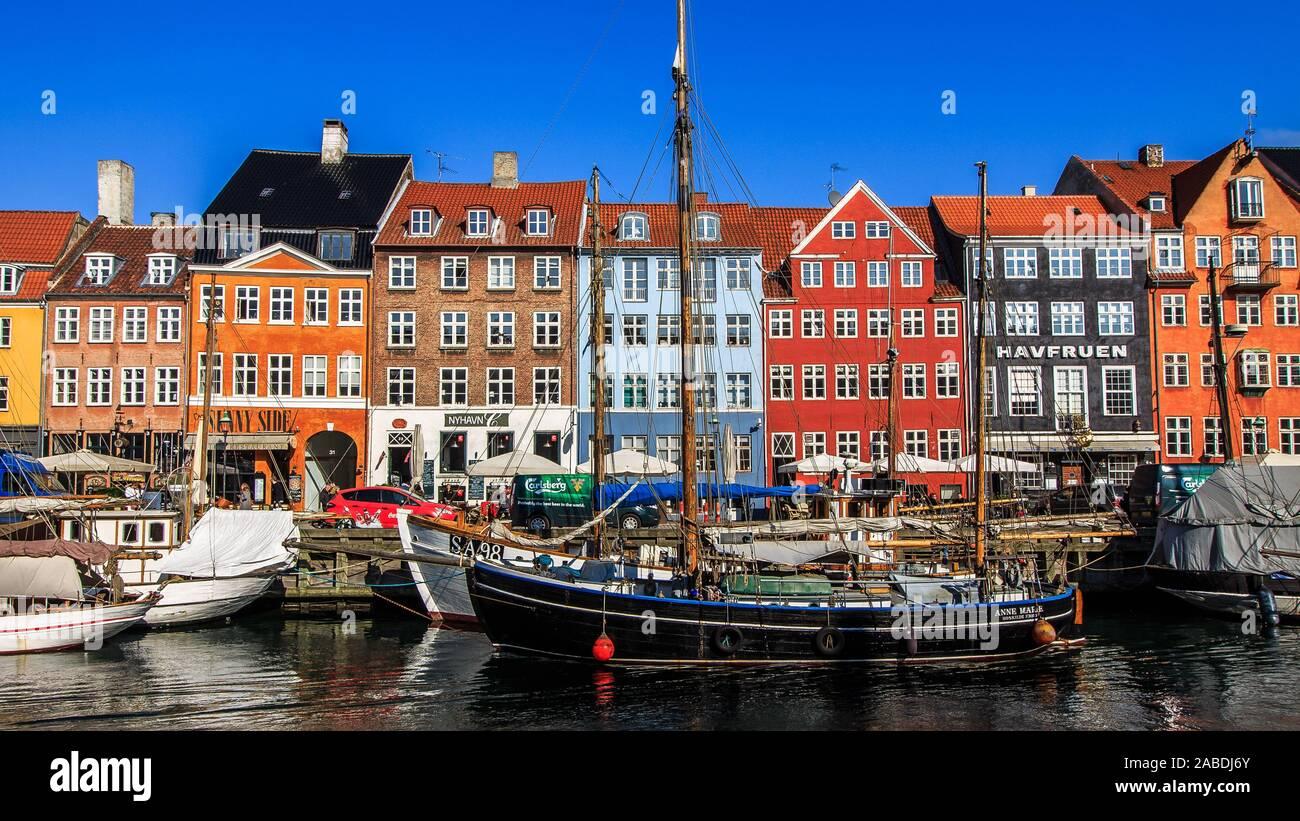 Copenhague Foto de stock