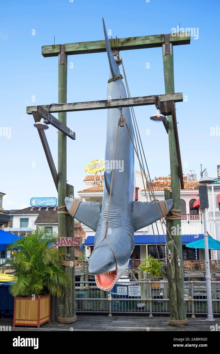 Mordazas mordazas en Universal, atracción, Universal Studios Resort, Orlando, Florida, EE.UU. Foto de stock