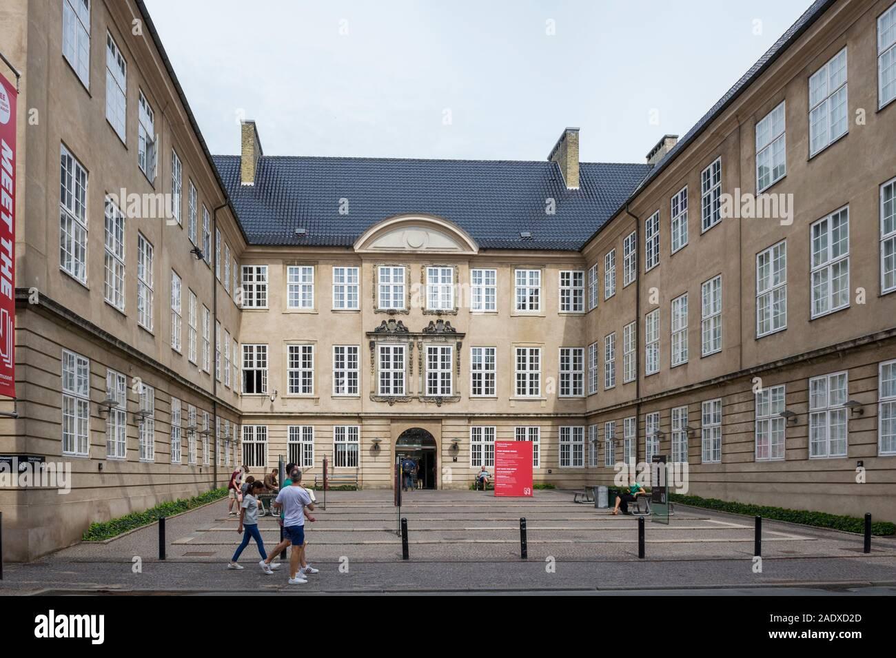 El Museo Nacional de Copenhague, Dinamarca Foto de stock