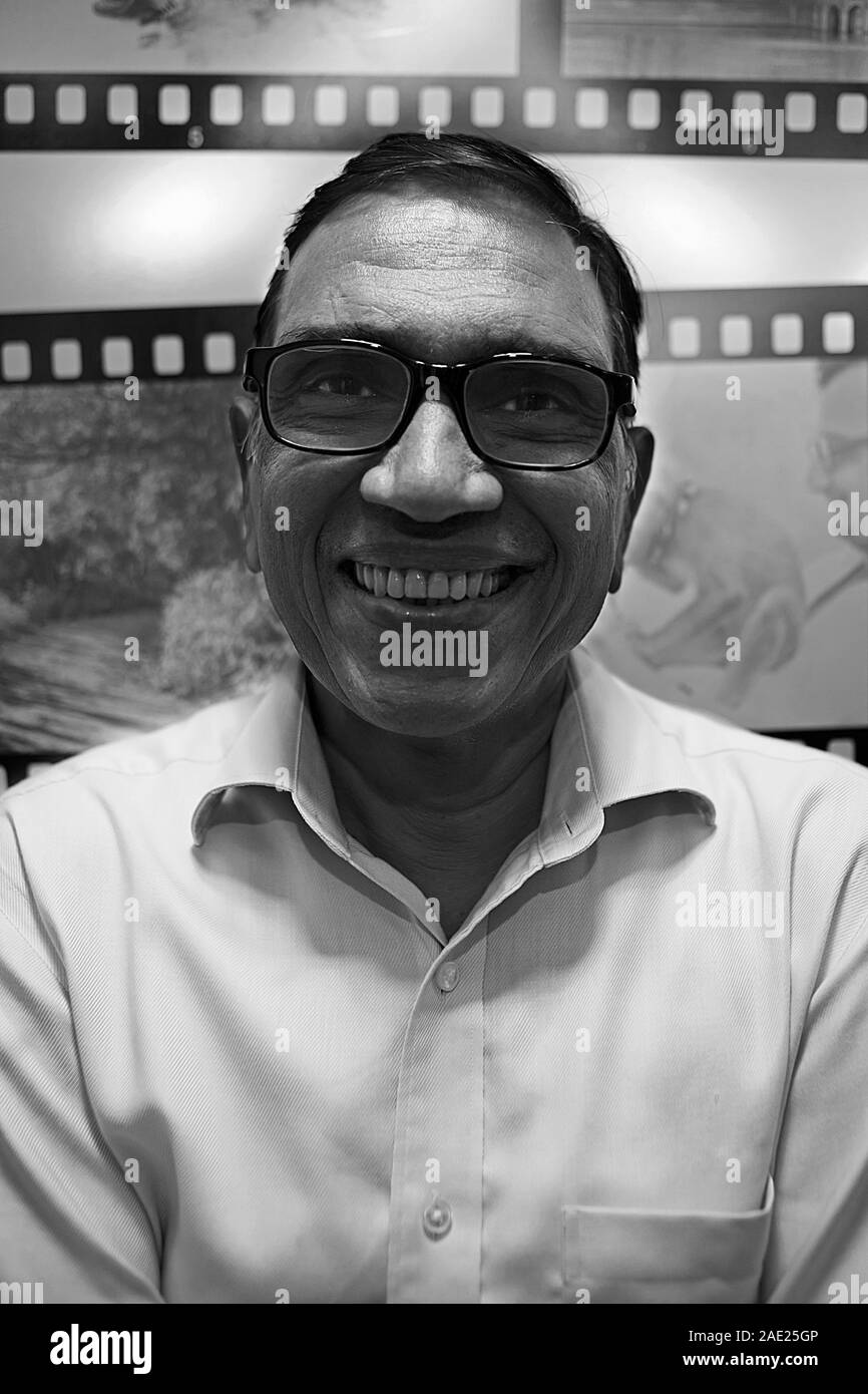 Jagdish Agarwal, fundador de Dinodia Fototeca, Mumbai, Maharashtra, India, Asia Foto de stock