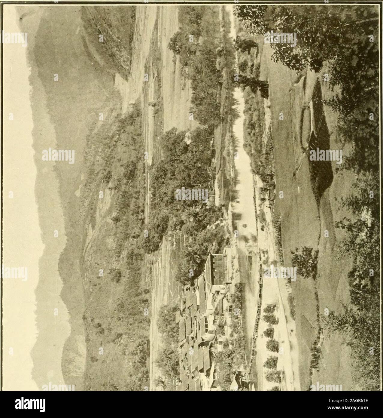 . El Imperio Chino: un estudio general y misionera ... t 1000 millas cuadradas. Es un Theprovince extremadamente montañoso, y whereverwe levantar nuestros ojos contemplamos el eterno Hills, clothedwith sus variados entre los que el follaje de la fir andbamboo son más prominentes o cultivadas a sus summitsin pequeñas terrazas por los laboriosos agricultores. Es enla las laderas más altas de estas montañas, que la mayoría de los teawhich encuentra su camino a las despensas de Inglaterra, Australia, y en América es cultivada. Las famosas colinas son Bohea enel extremo norte de Fukien. La gente de la provincia se dice Foto de stock