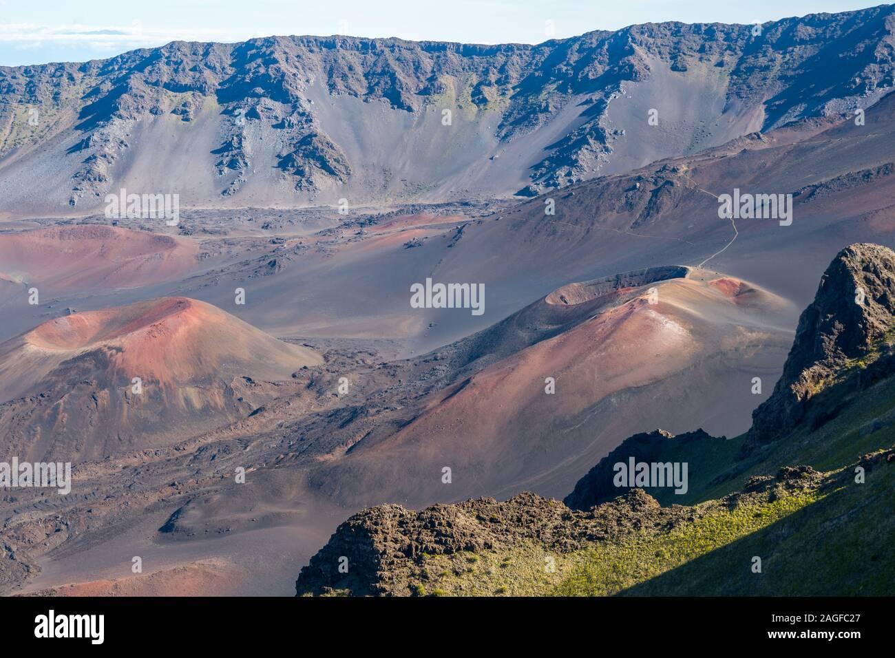 Una con vistas de la naturaleza en Maui, Hawai Foto de stock