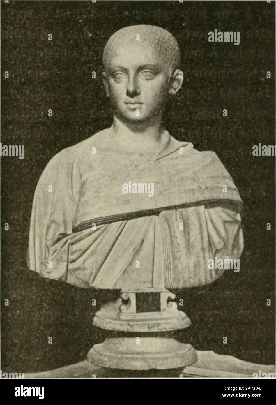 Saint-Pierre de Roma : histoire de la basilique vaticane et du culte du tombeau de Saint Pierre . eillère discrète. R y avait du reste à côté de rempereur, dans son propre palais, unechrétienne fervente, Otacilia Sévéra, sa femme, qui ne faisait mys-tère punto de ses croyances religieuses. Par Instruite colgante Origène hijo séjouren Orient, cette patricienne romaine ne séloigna quavec peine de la chairede lillustre maître. Même à Roma, elle voulut bénéficier de hijo ensei- de S. Bahyla conl. Jul. (Pitlrol. ijrec. i., retorno de la inversión (ROI). 529.)- De Vii-es m. c. i.iv. Lc 560 gnement CULTE et recevoir ses conseils Foto de stock