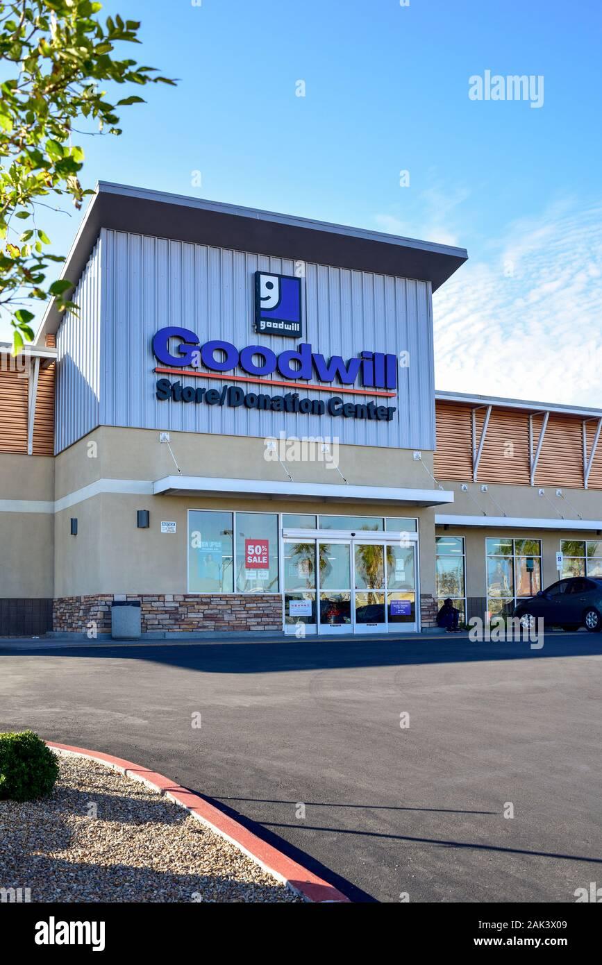 Tienda de buena voluntad en Las Vegas, Nevada Foto de stock