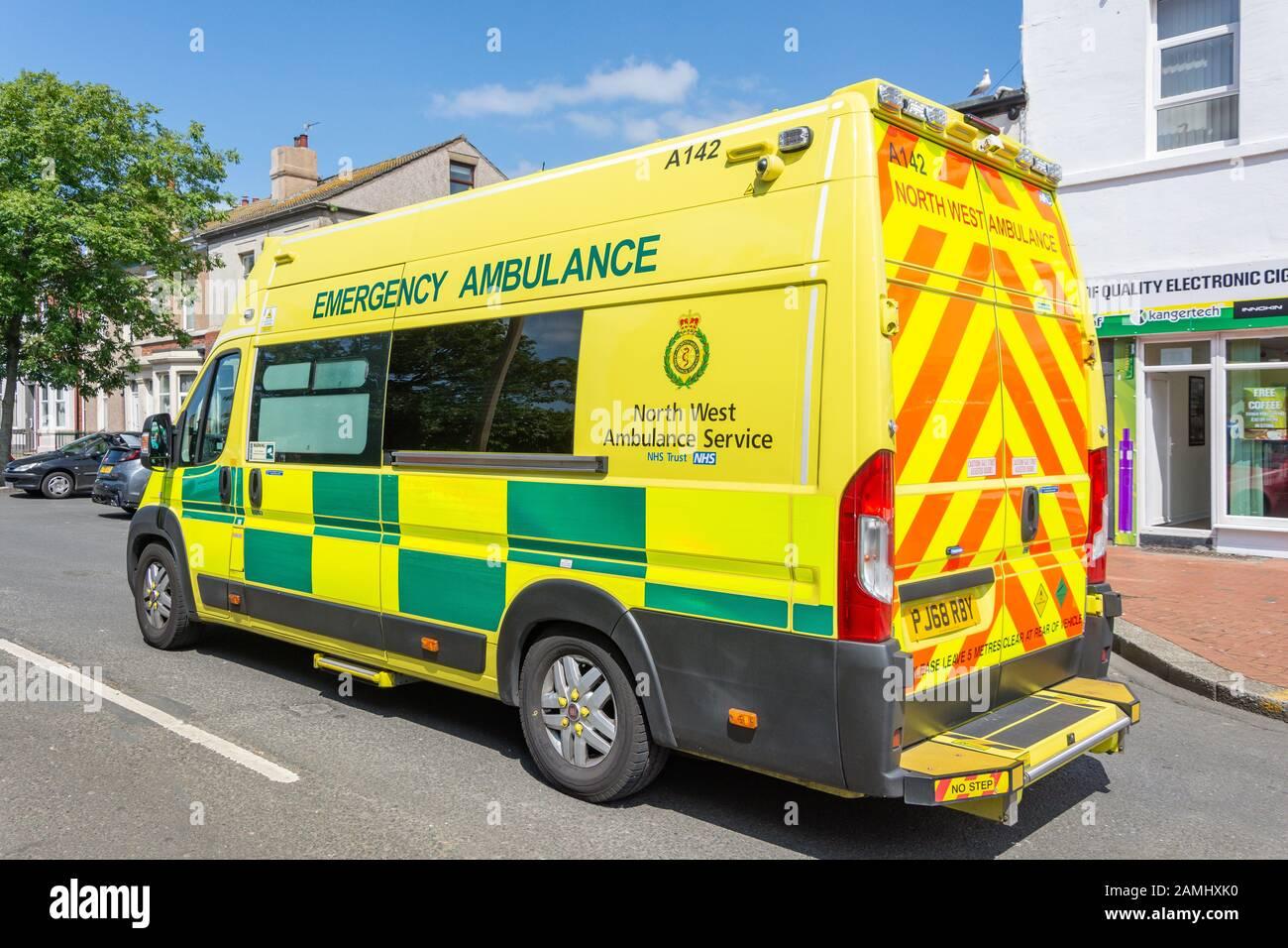 East Midlands Camiseta de servicio ambulancia Personalizado