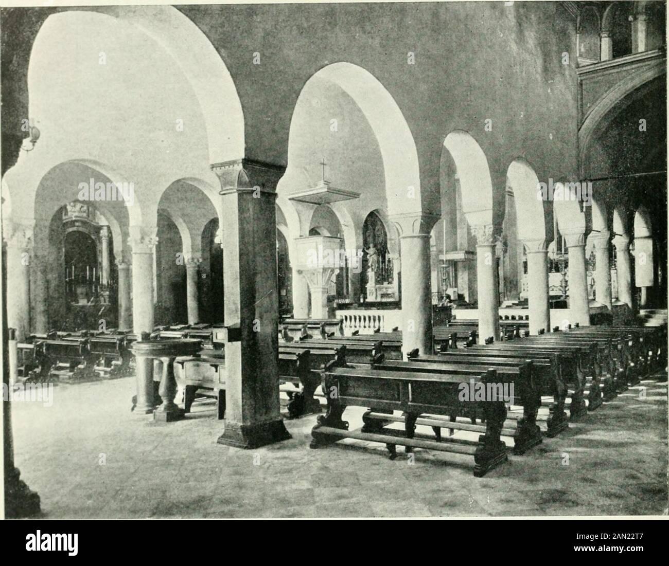 Trieste . STATUA DI S. GIUSTO NEL CAMPANILE. (Fot. Alinari). PE-gr, tat •? P™ ? N Ito ° ? * * * * * * * * * * * * * * * * * * * * * * * * * * * * * * * * * * * * * * * * * 34 ITALIA ARTISTICA Di contro al campanile è la camera mortuaria, dove un tempo era la chiesettadi S. Pietro, detto in Carnale, perchè era inclusa nellarea del camposanto; sotto ilsagrato dormono nana sonno i morti di secoli, dal XIV fino al XIX : frale lapidi di vario stile meritava specialmente uno sguardo quella che diceva di con-tenere le Foto de stock