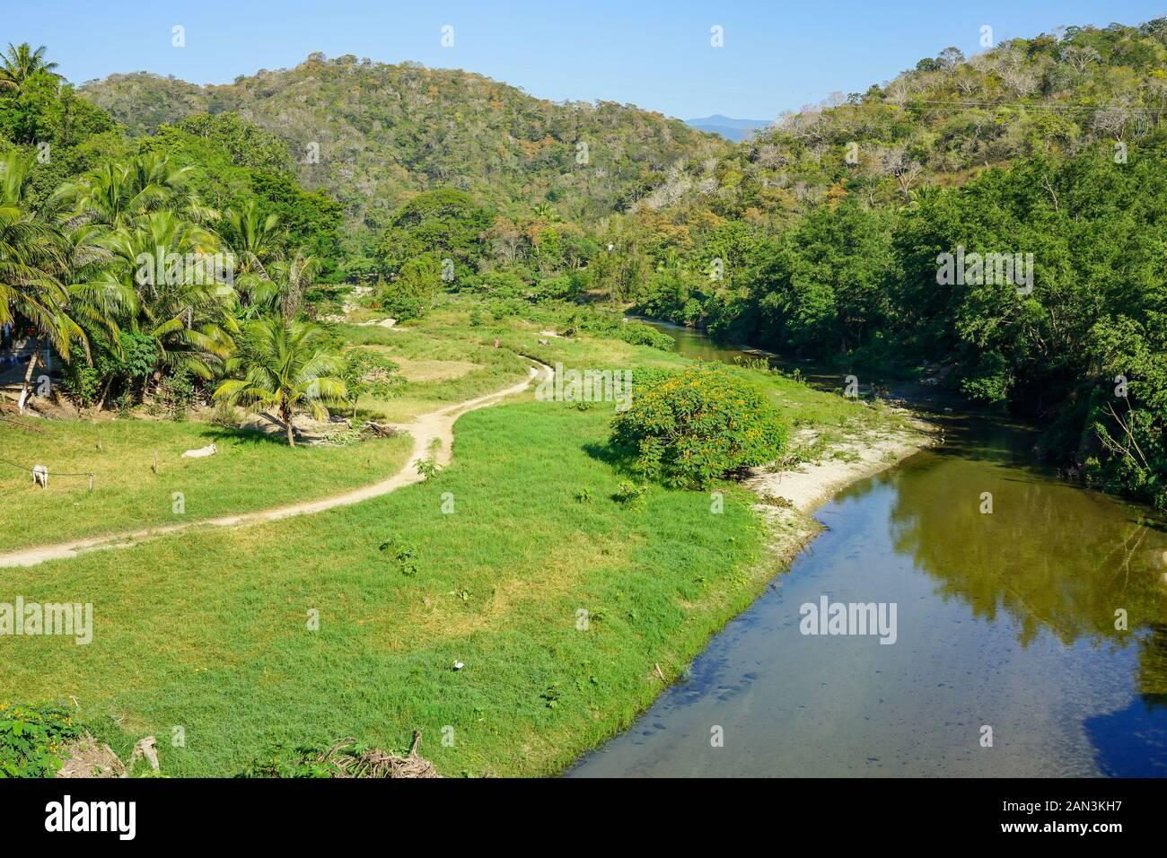 Huatulco, México, Bahia de Huatulco, Foto de stock
