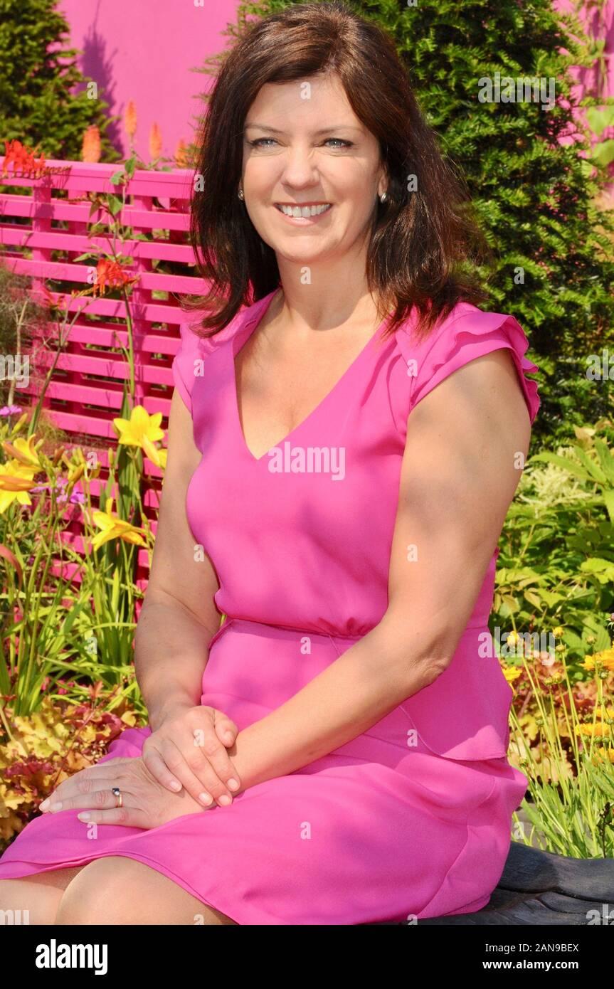 Dr Dawn Harper. RHS Hampton Court Palace Flower Festival, East Molesey, Surrey. UK Foto de stock