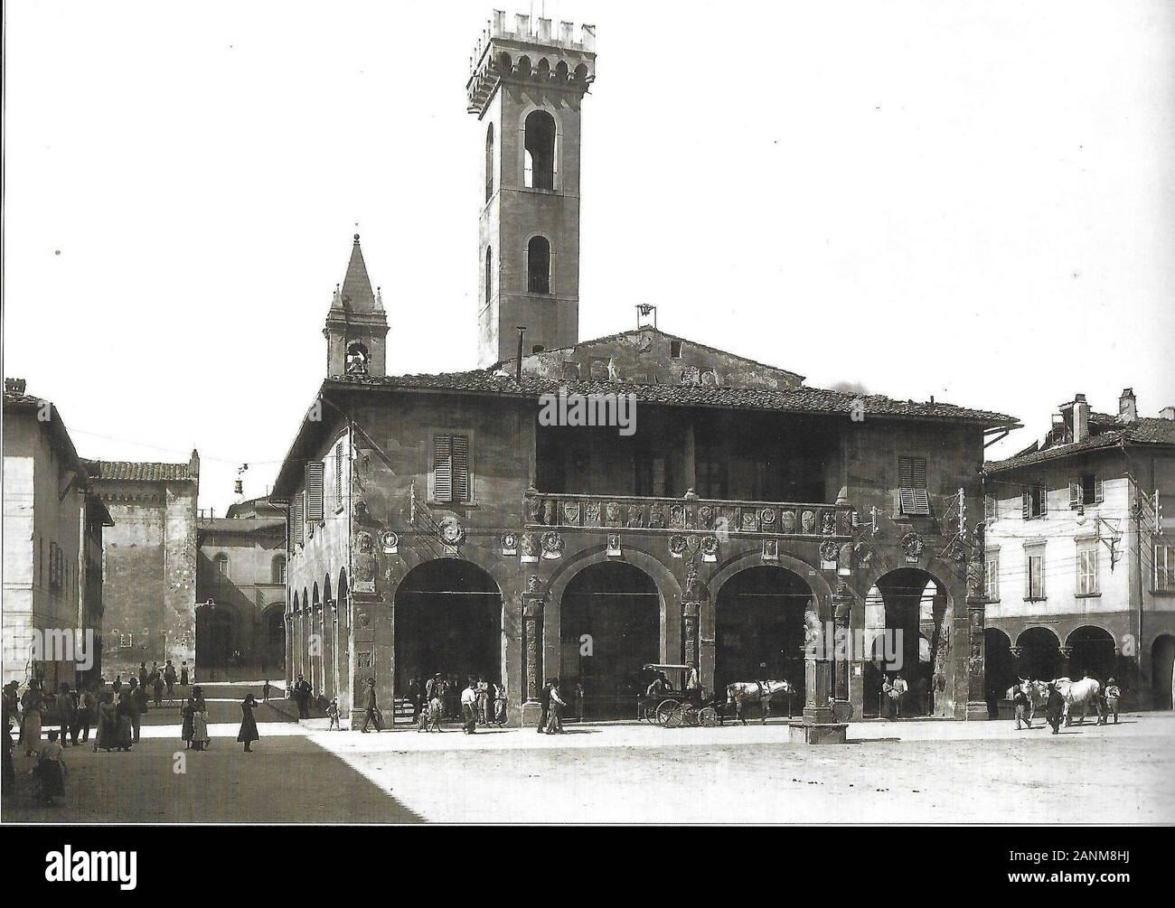 San Giovanni Valdarno - Foto d'epoca; 1 de enero de 1930; Foto d'epoca; Desconocido; Foto de stock