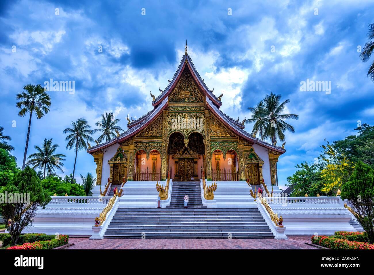 Haw Pha Bang en Luang Prabang Laos Foto de stock