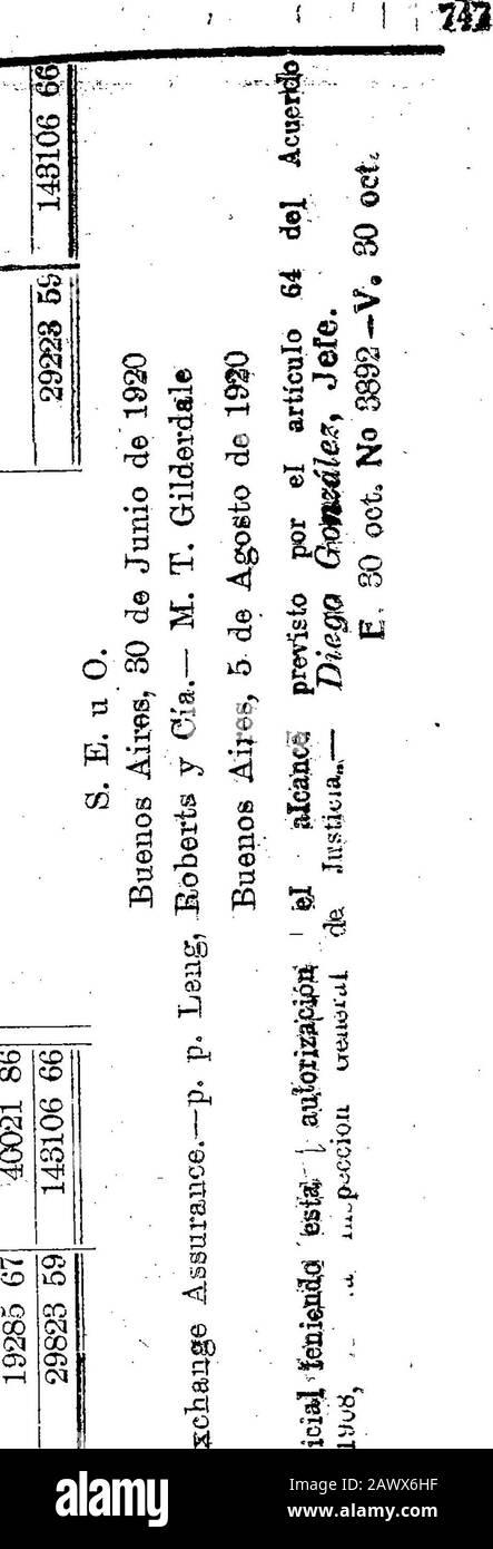 """Boletín Oficial de la República Argentina1920 1ra sección . 3 o W o Pm •r-J pt -p rJC2 ©6D • i-t RH PQ t5 *tí o tí o o -o rtí. 2 60O) tí T3 PHM ©tí 5T1 BOLETÍN OFICIAL. —Buenos Jesús«3 .Salado 30 de Octubre 1920. Tí tí En o p p tí tí tí CD 6J0 üP o P Ph 60© RH- CO»0 <M tíPP<! W 6D 3 ¡ o tí 3 * tí-2 0 gÓQ tí£ S tí tí wppp es ai > f-i o oa os © . 33 tí-o © o > • tím o>>3l © tí """"oí © tí 03« c3£¡ CC • CSRI P » N S tí _2 tí! Id. Offll.© OH *»: . S o 03 03 o 03 H o ü o P o ¡ p Ü5tf> P +j«)j o t> 2 rj :r LS -r1 £ • oí* P,p* HTÍ Foto de stock"""
