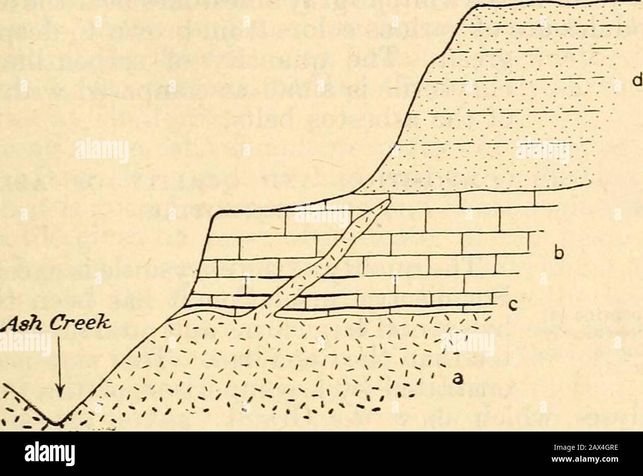 Los recursos minerales de los Estados Unidos . Ill se reconoce siempre como uno de los depósitos ostexcepcionales e interesantes todavía descubiertos. Toda la ab-sence de la trituración de rocas y la notable continuidad de las asbestosvenas aproximadamente en el plano de estratificación indican claramente que las venas no fueron depositadas en fisuras abiertas, sino por el reemplazo de serpentina en los planos de debilidad algo más tarde que el de-desarrollo de la serpentina misma. También aquí tenemos evidencia convincente del desarrollo del asbesto por intrusión igneous. Wemay, por lo tanto, el más fácilmente de acuerdo al Foto de stock