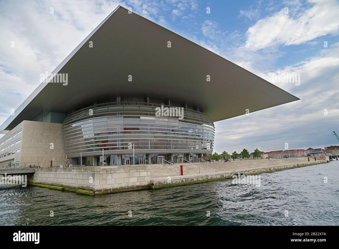 Copenhague, Dinamarca - 14 de junio de 2019: La Ópera de Copenhague, la ópera nacional de Dinamarca Foto de stock