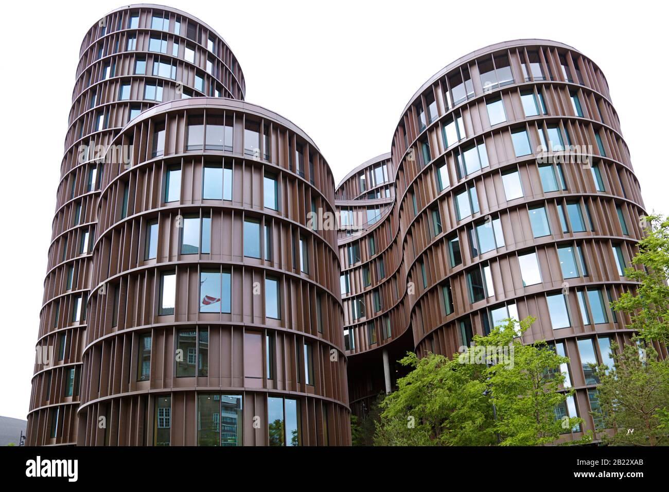 Copenhague, Dinamarca - 15 De Junio De 2019: Edificio Axel Towers Foto de stock