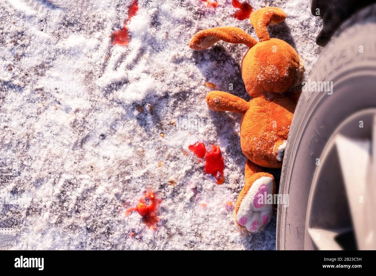 Perro /& co país Roadkill liebre perro de juguete pequeño