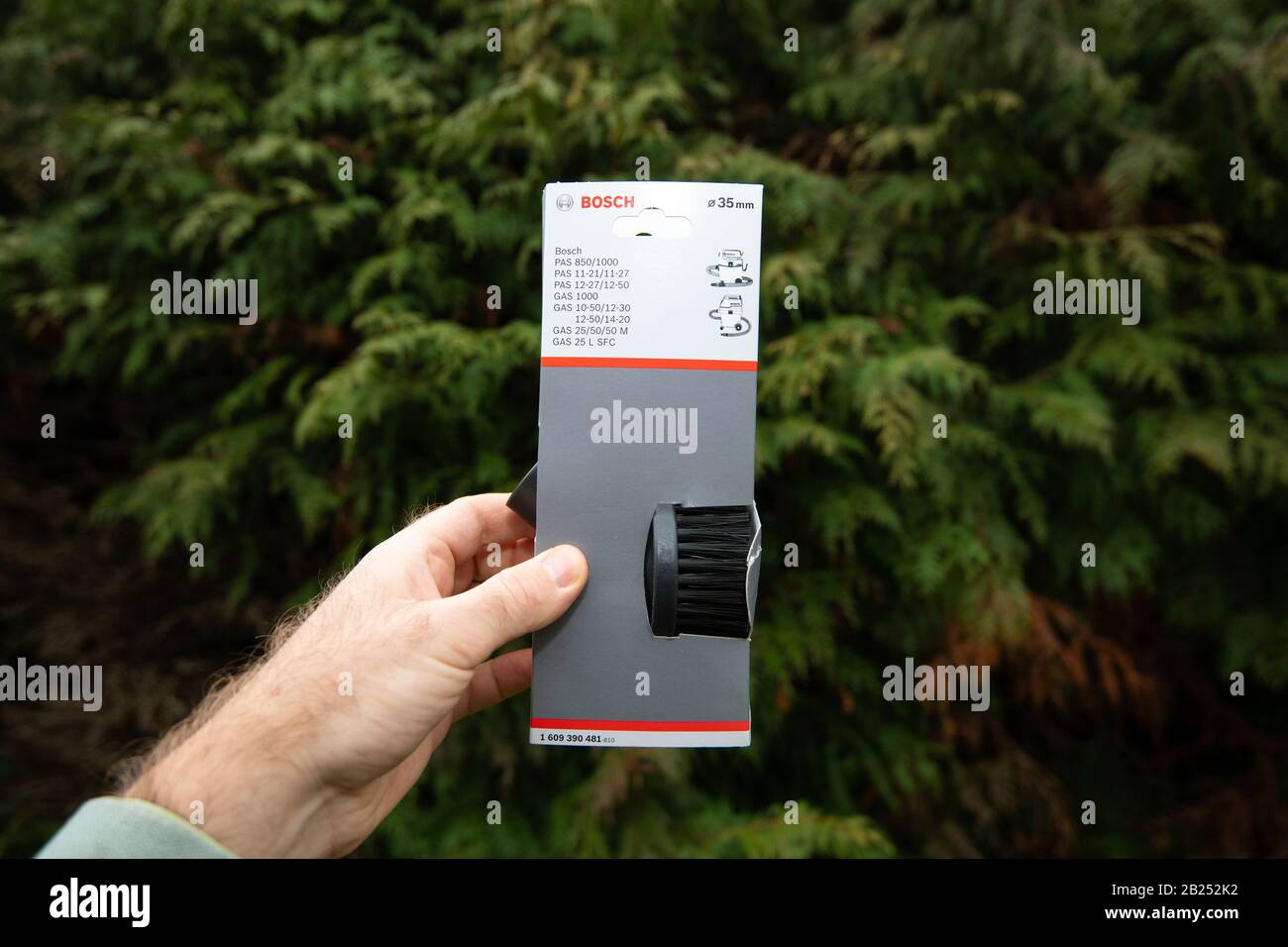 pack de 1 Cepillo aspirador 35 mm Bosch 1 609 390 481