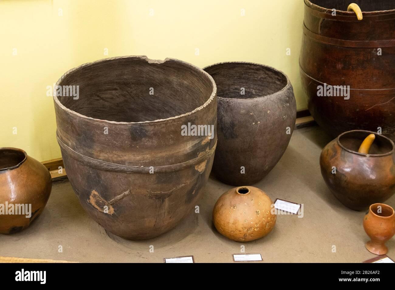 Museo Morija, Lesotho Foto de stock