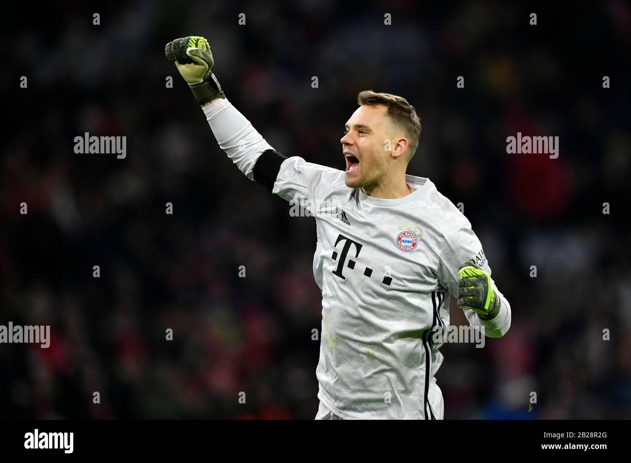 Cartel /> Bayern Munich /> Baviera capitán Manuel Neuer