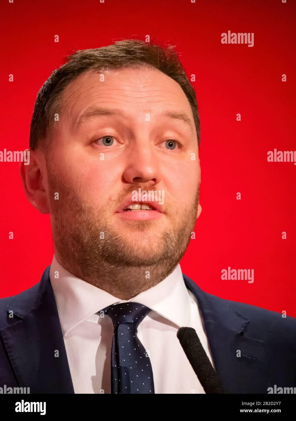 Ian Murray, diputado laborista por el sur de Edimburgo y candidato para el líder adjunto del Partido Laborista Foto de stock