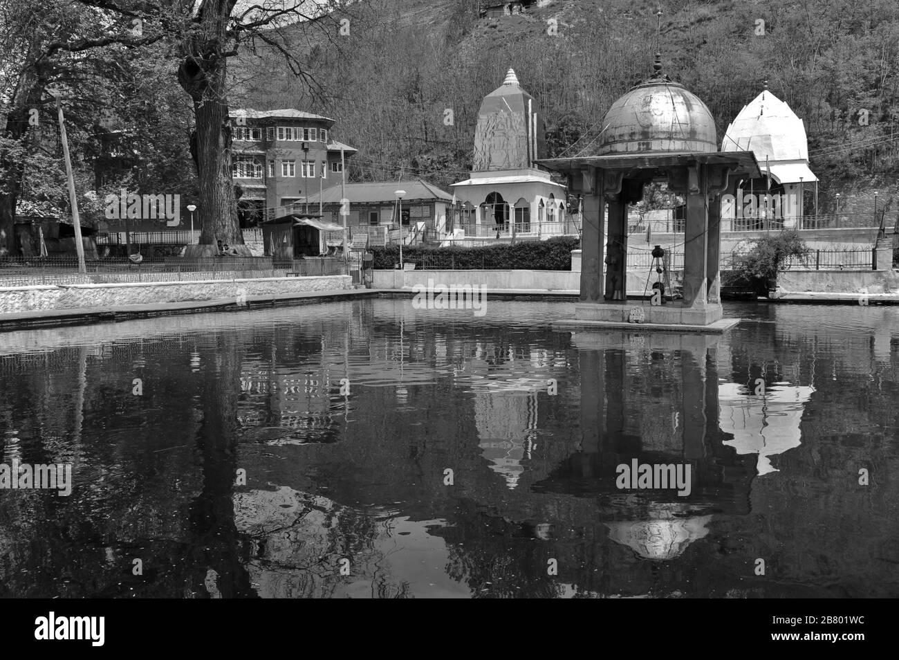 Templo de Ratán, Martand, Anantnag, Cachemira, Jammu y Cachemira, India, Asia Foto de stock