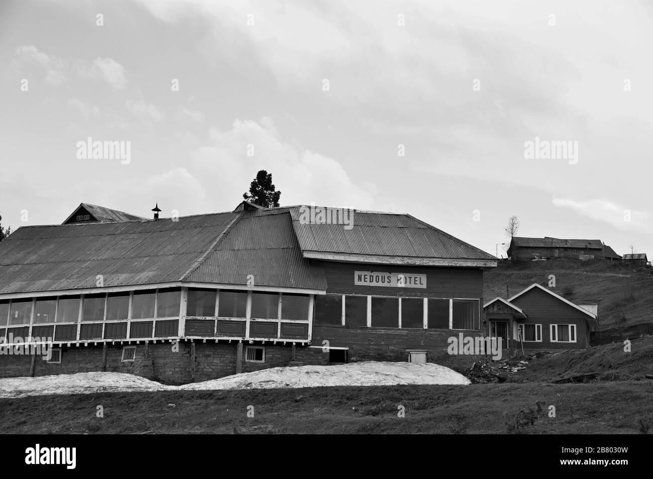 Nedous Hotel, Gulmarg, Baramulla, Cachemira, Jammu y Cachemira, India, Asia Foto de stock