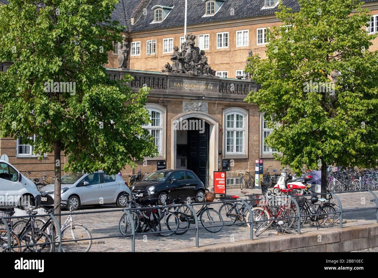 Museo Nacional de Dinamarca alias Nationalmuseet en Copenhague, Dinamarca, Europa Foto de stock