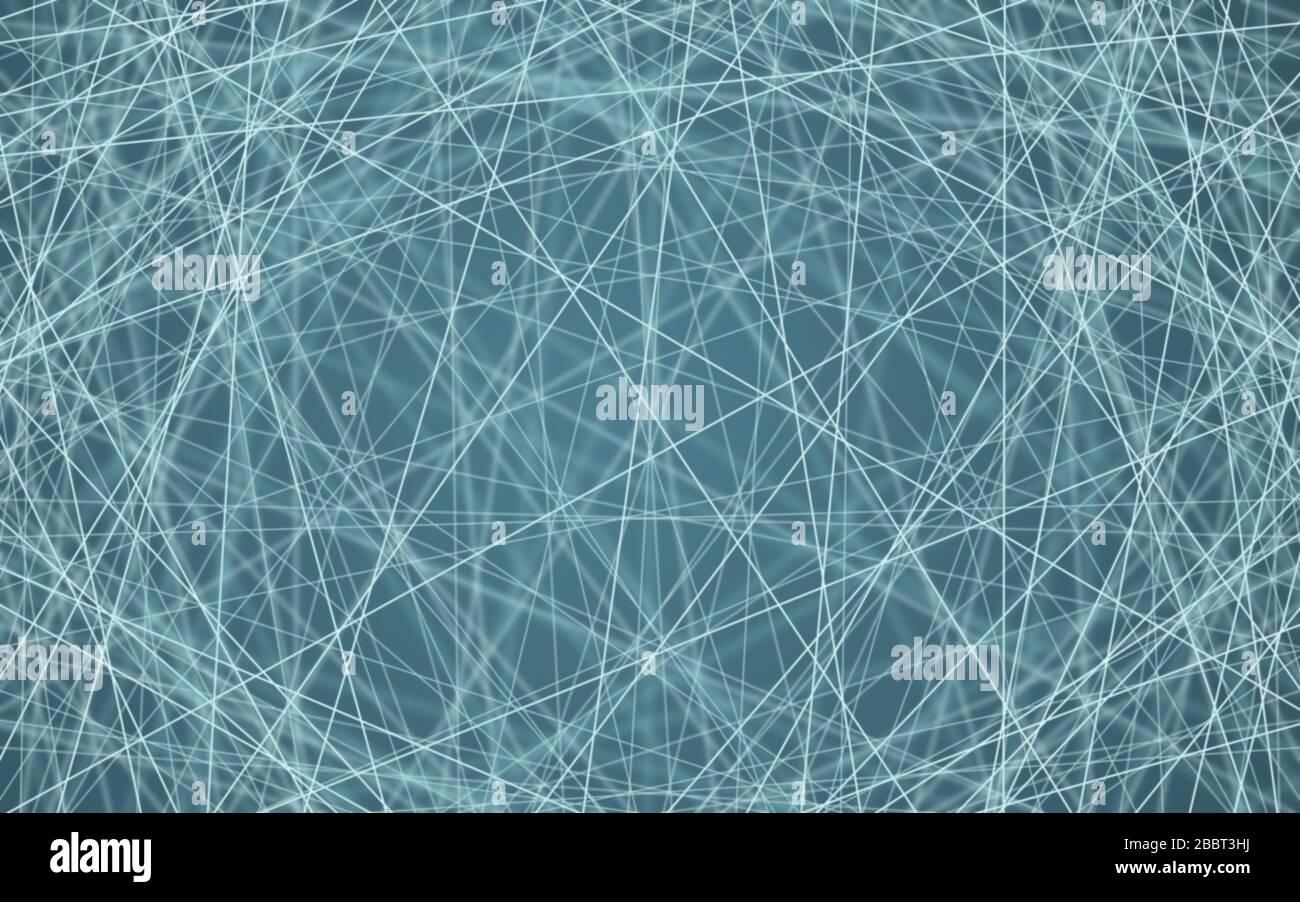 Ilustración vectorial de la conectividad en línea. Mapa abstracto de conexiones y datos empresariales o web. Ilustración del Vector