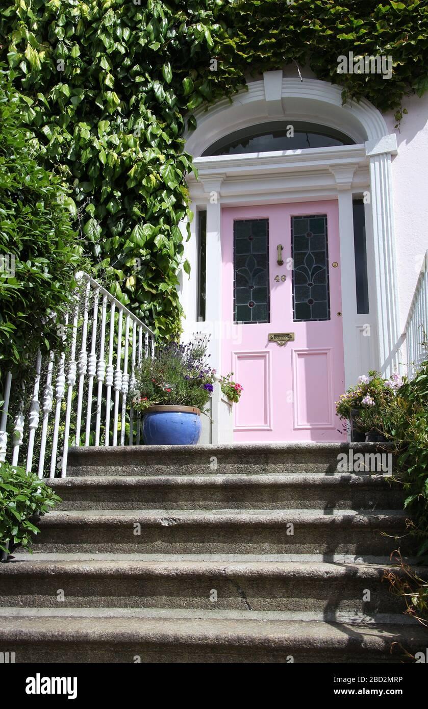 Casa en Sandycove en el condado de Dublín Foto de stock
