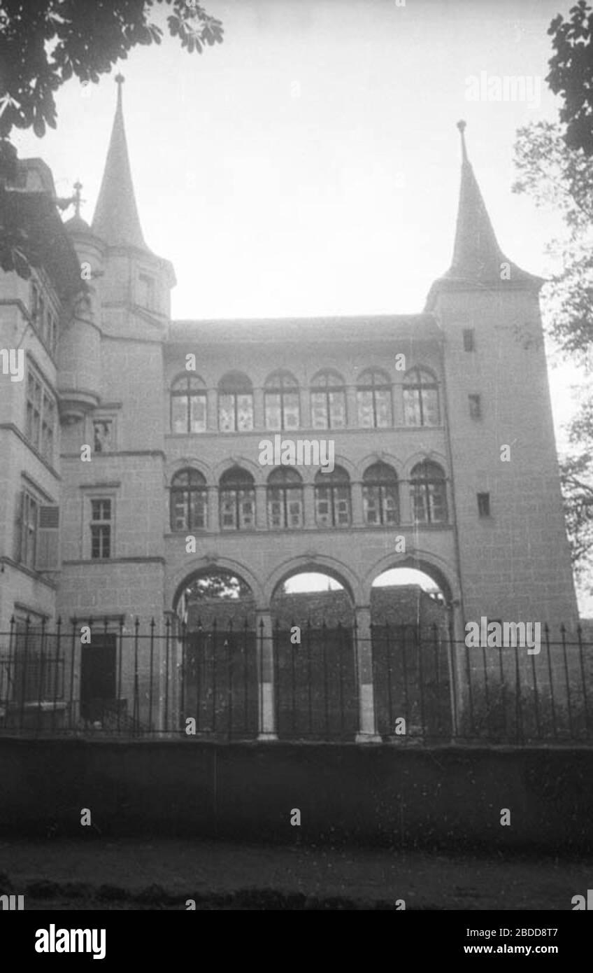 'Fribourg; Musée d'Art et d'Histoire.; 6 de septiembre de 1936date QS:P571,+1936-09-06T00:00:00Z/11; Berit Wallenberg / Kulturmiljöbild, Riksantikvarieämbetet este archivo fue proporcionado a Wikimedia Commons por la Junta Nacional Sueca de Patrimonio en el marco del proyecto de cooperación Wikimedia Open Heritage con Sverige. Este archivo fue puesto a disposición por Riksantikvarieämbetet como parte del proyecto de Patrimonio Abierto conectado. El proyecto está dirigido por Wikimedia Sverige en cooperación con la UNESCO, Wikimedia Italia y Patrimonio Cultural sin Fronteras y se financia con una subvención del proyecto de la C Foto de stock