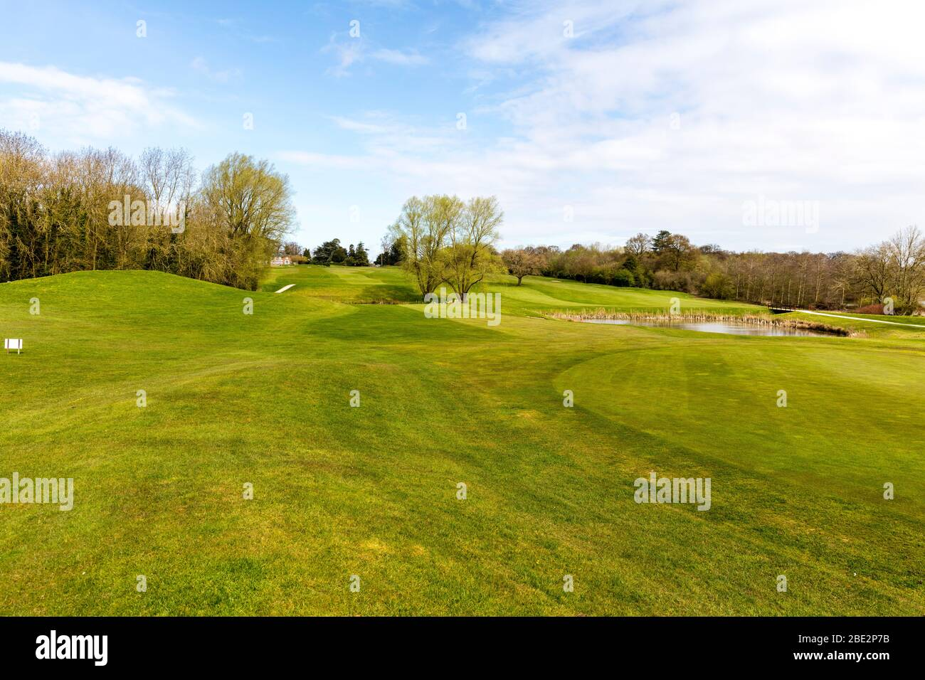 Kenwick golf course Louth, campo de golf, golf, golf, golf green, golf green, campos de golf, Kenwick, Kenwick Louth, greens, Foto de stock