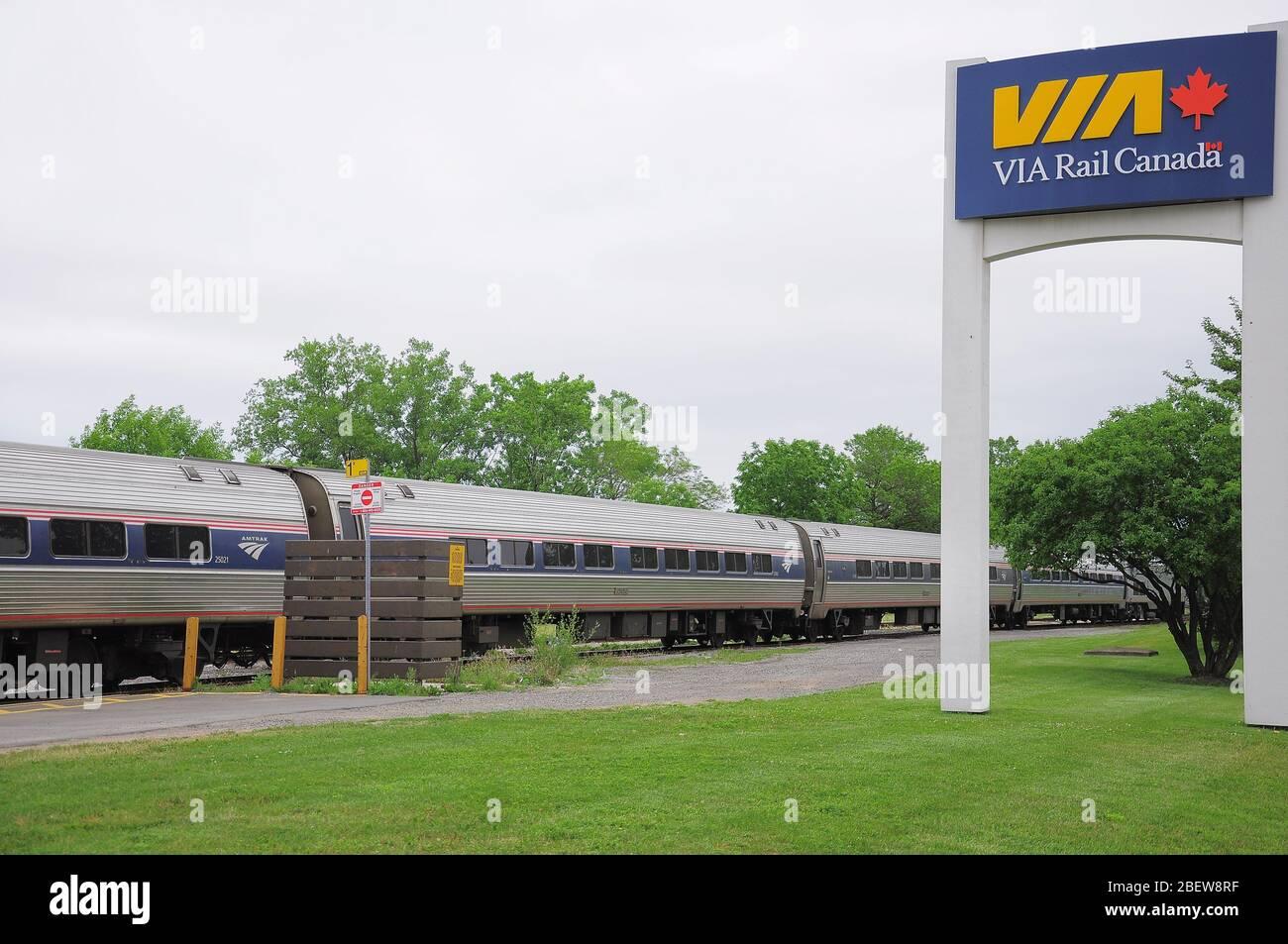 Via Rail Canada Sign Fotos E Imágenes De Stock Alamy