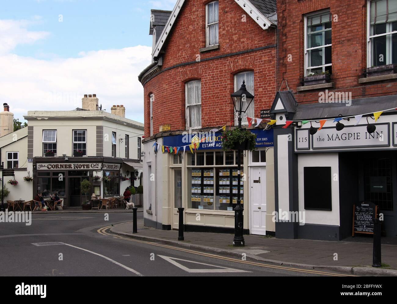 Dalkey en el condado de Dublín Foto de stock