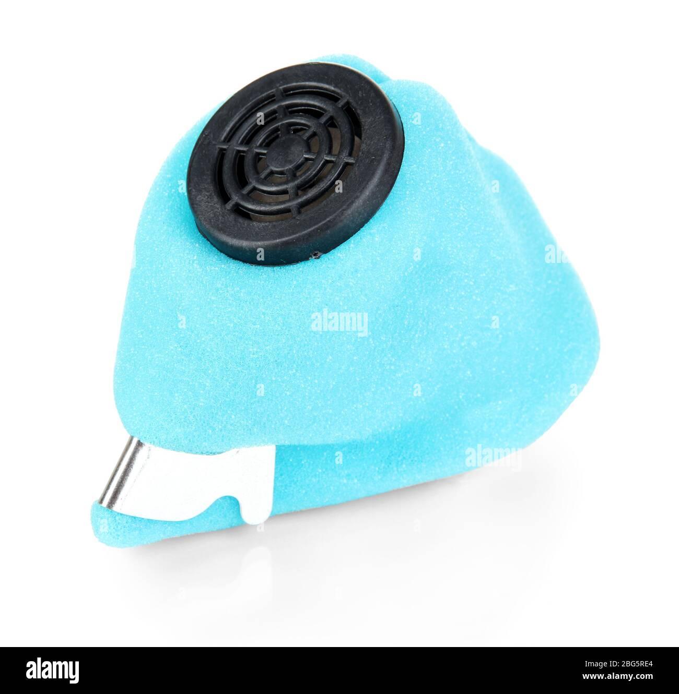 Respirador aislado en blanco Foto de stock