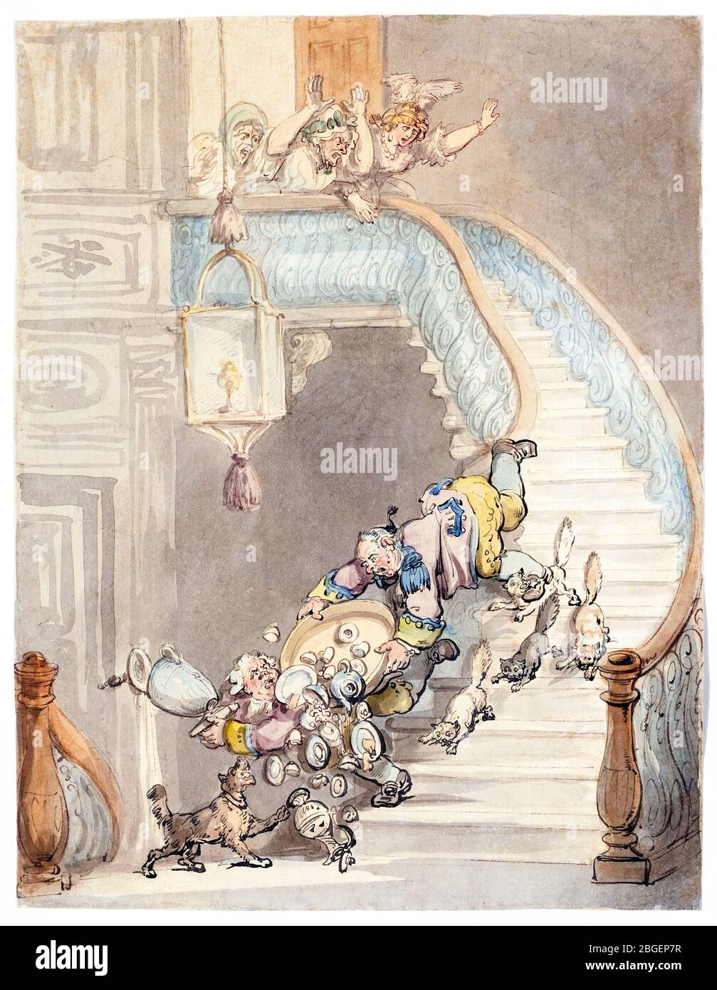 Abuelas Maduras abuelas caricatura fotos e imágenes de stock - alamy