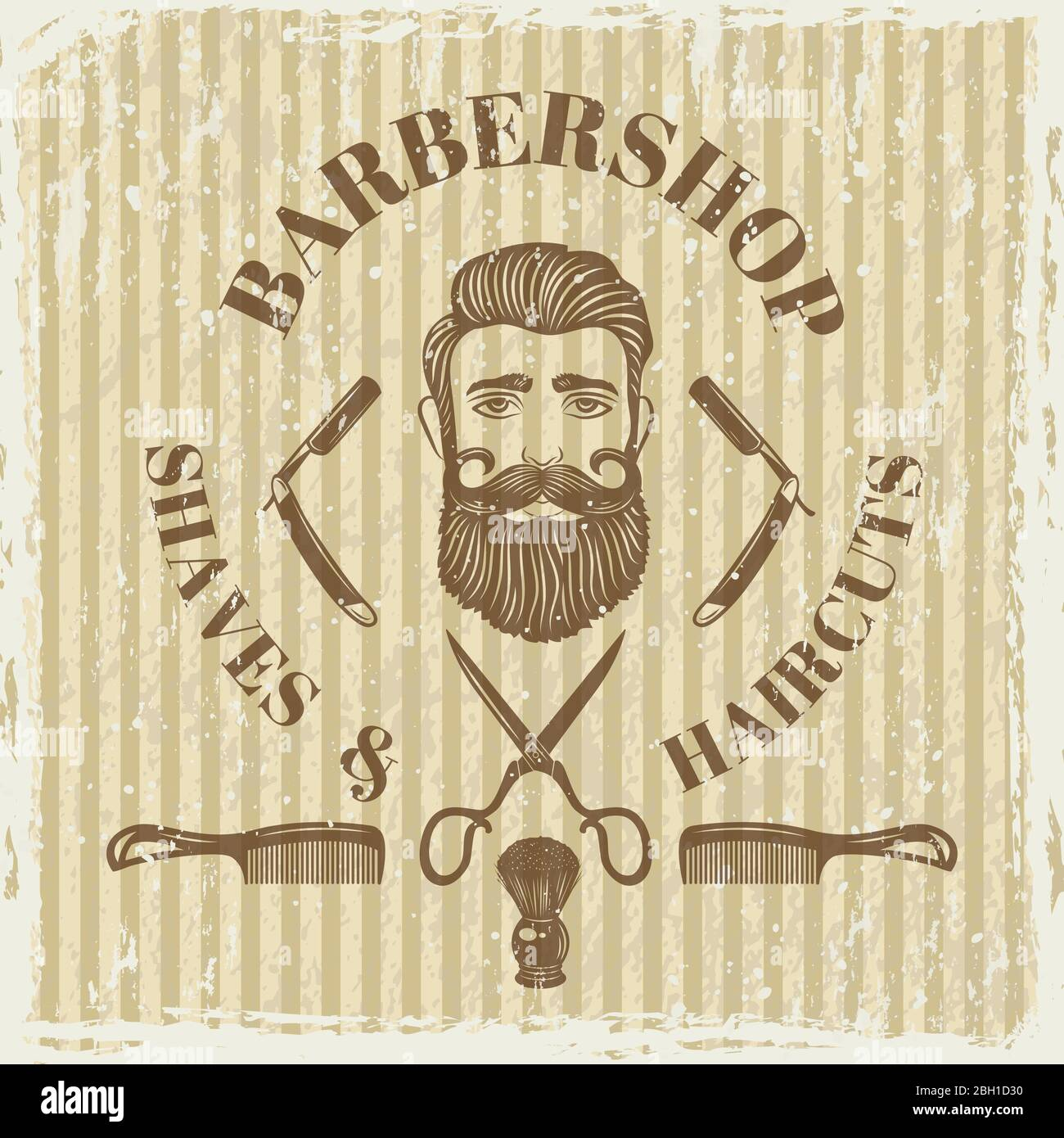 Cartel peluquero-de pizarras personas nombre escudo nombre escudo peluquero Barbero