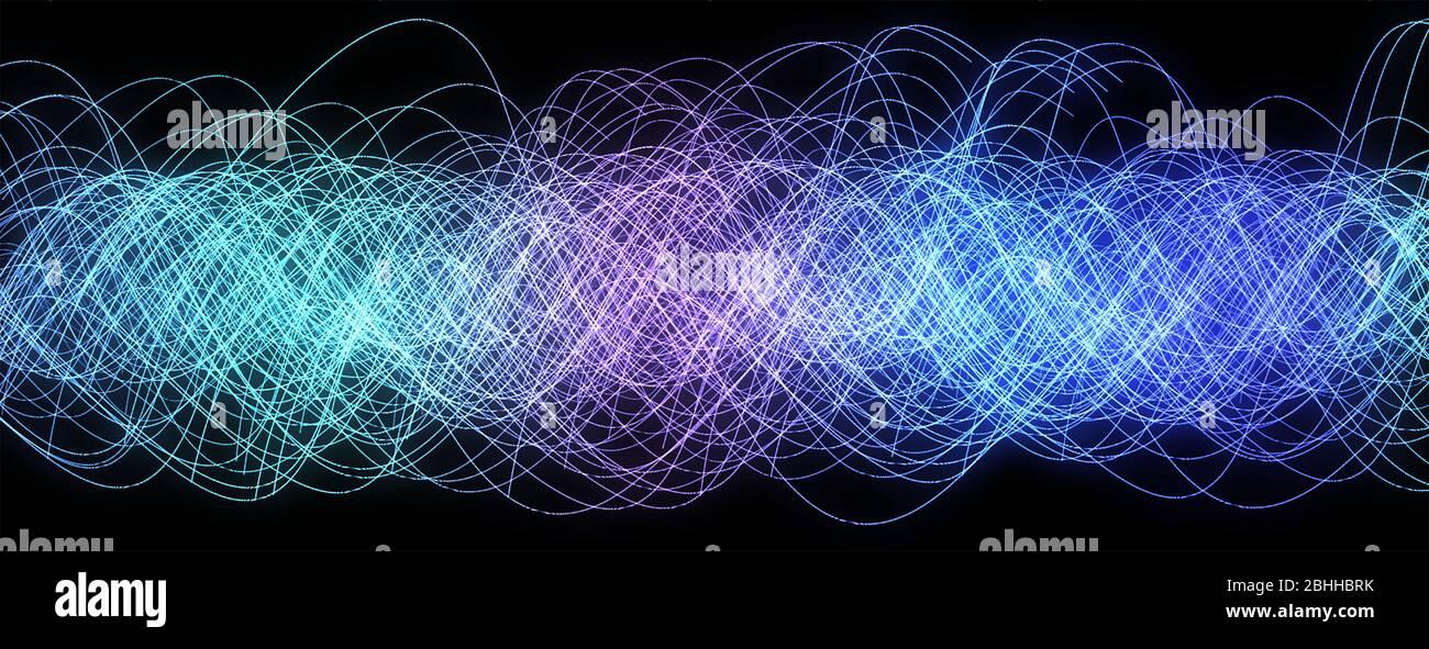 Líneas de colores fondo abstracto para el diseño. Foto de stock