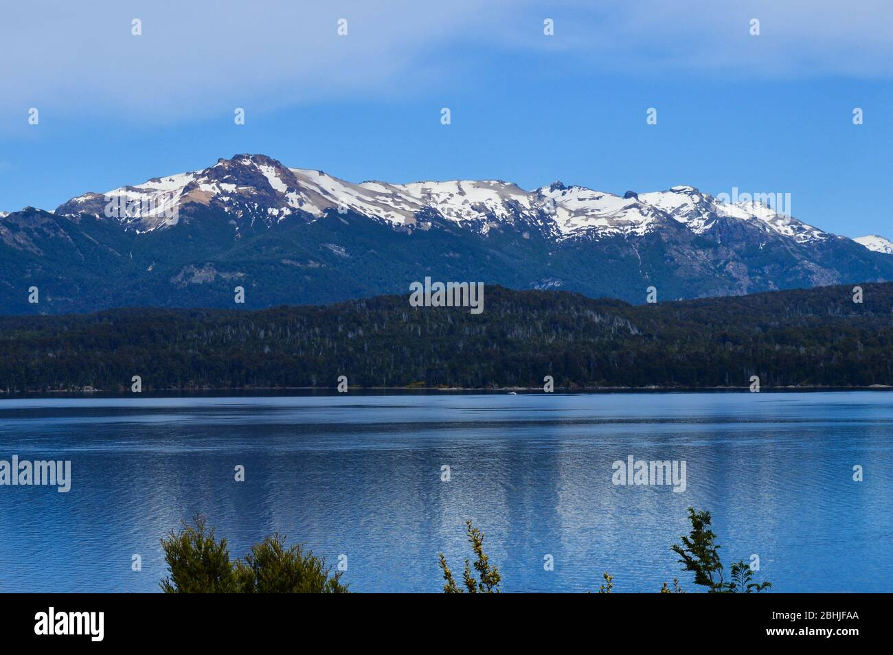 Siete Lagos Patagonia Foto de stock