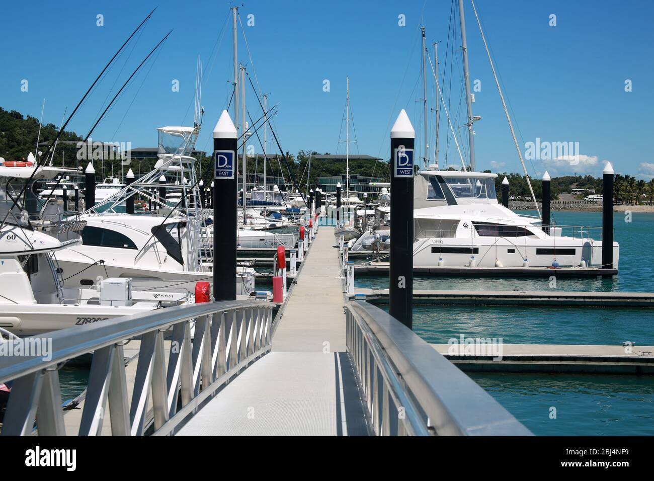 Hamilton Island, Queensland, Australia Foto de stock