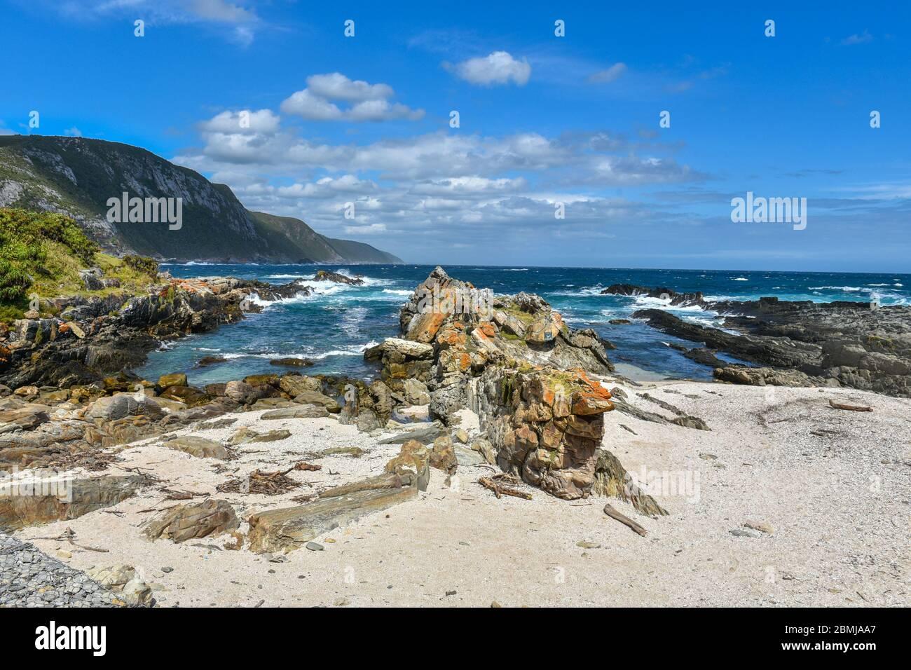 Parque Nacional Tsitsikamma (Garden Route), Garden Route, Sudáfrica Foto de stock