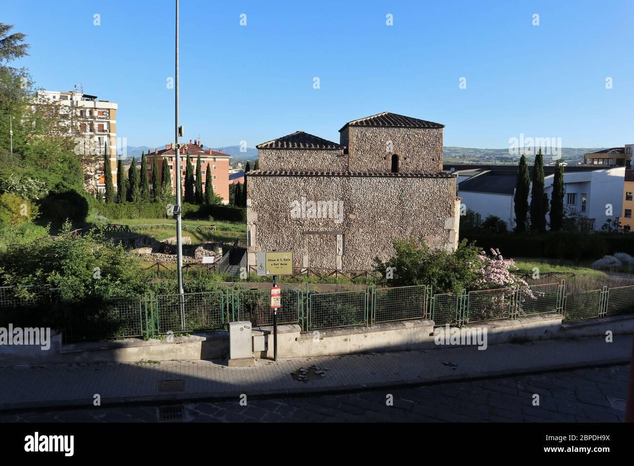 Benevento - Sant'Ilario la mattina presto Foto de stock