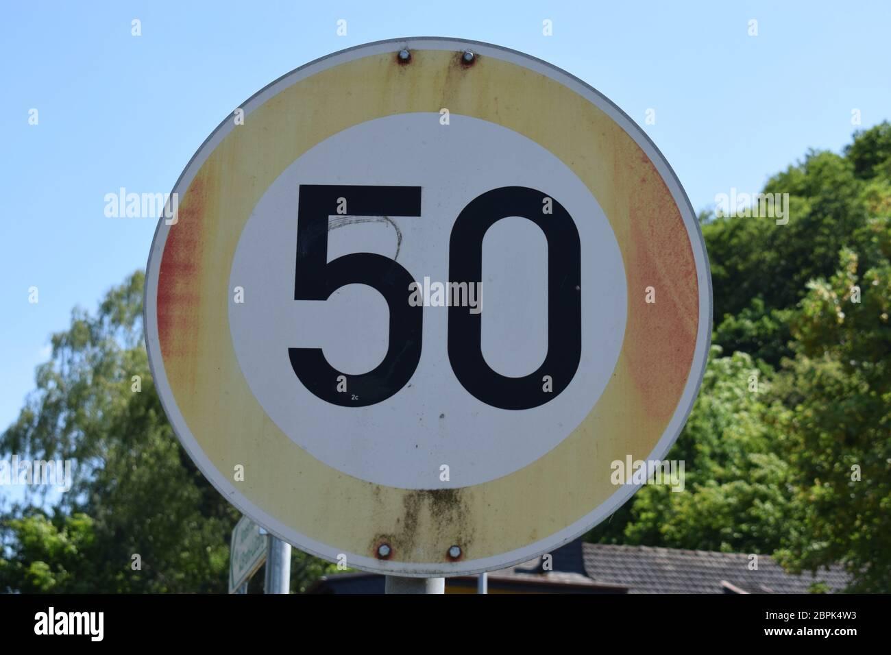 De 100 mph velocidad signo Gemelos