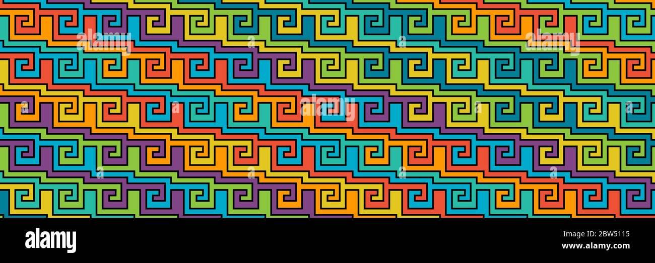 Patrón de color abstracto para textura, textiles, embalaje y decoración. Ilustración del Vector