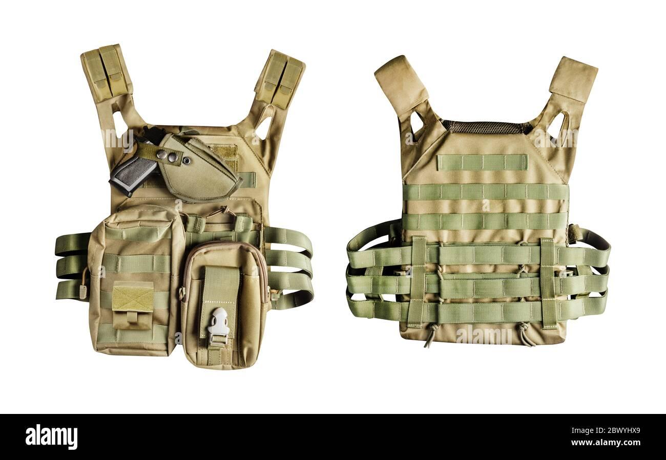 ActionUnion Chaleco táctico militar para airsoft, para entrenamiento de combate modular para adultos, para hombre, con protecciones especiales